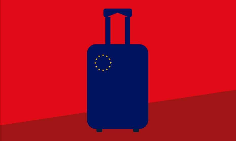 Noma Bar illustration: leaving Europe
