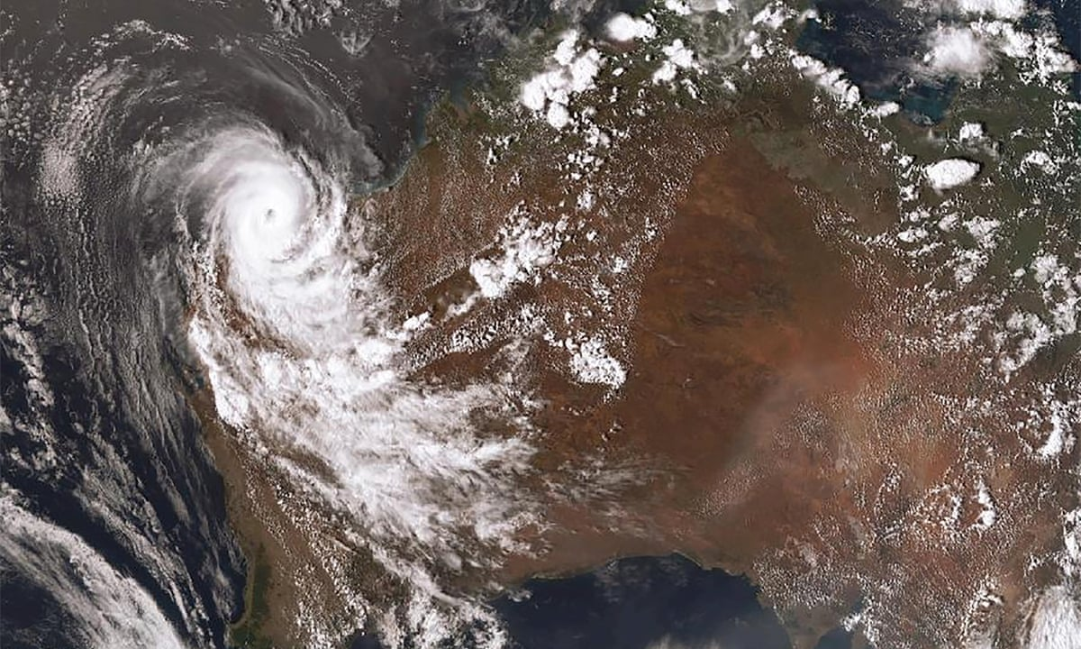 Cyclone Damien Downgraded After Damaging Homes In Western Australia Natural Disasters And Extreme Weather The Guardian