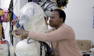 Nnena Kalu at work Courtesy of Humber Street Gallery and the artist