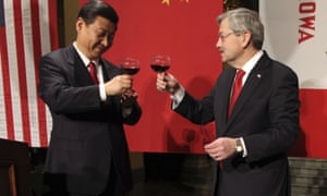 Xi Jinping and Terry Branstad