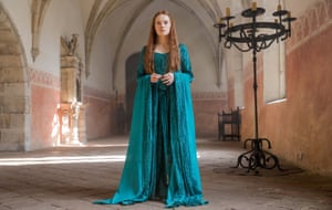 Actor Daisy Ridley in Ophelia