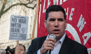 Critics said McDonnell could believe he will retain influence over the Labour party by backing Richard Burgon, above.
