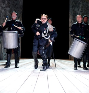 Kevin Spacey (Richard lll) in Richard III by William Shakespeare at the Old Vic in 2011