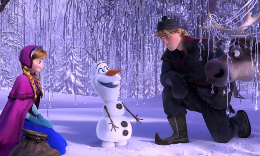 The characters of Frozen, soon coming to life on the Broadway stage