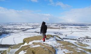 North Yorkshire snow