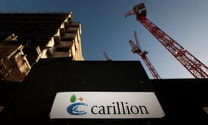 A Carillion construction site in London