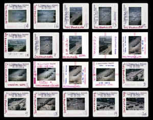 Stuart Franklin's contact sheet from Tiananmen Square, 1989
