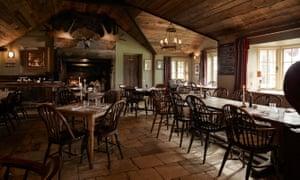 Elk restaurant, gunton arms