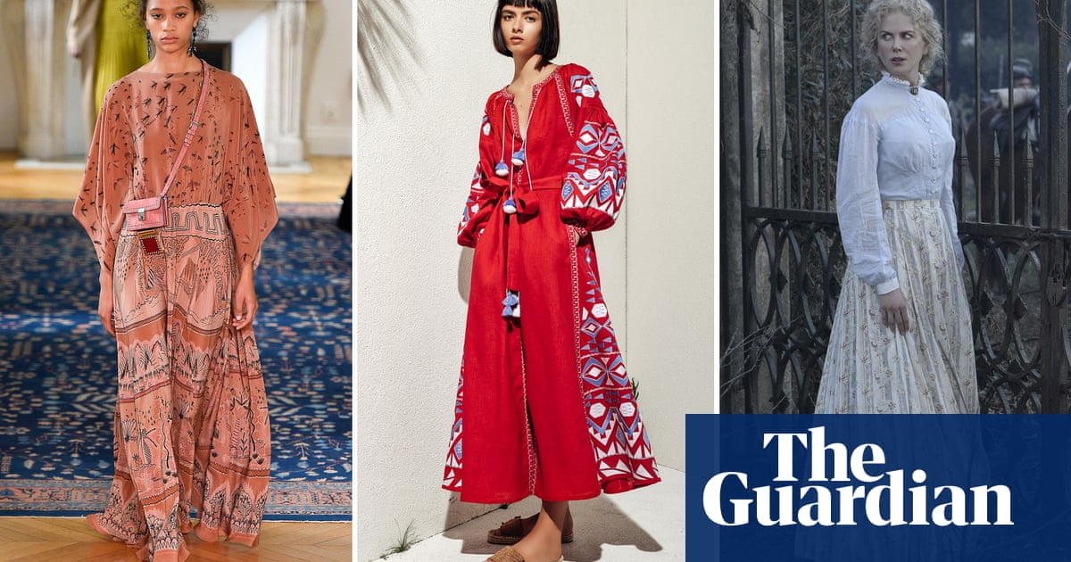 81a6fb10dc Pastoral chic: dressing for the summer you want, not the summer you ...