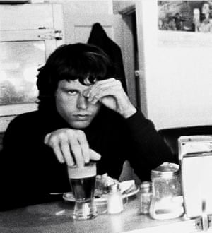 'We smoked a load of hash and listened to Sgt Pepper' … Jim Morrison of the Doors in 1967.