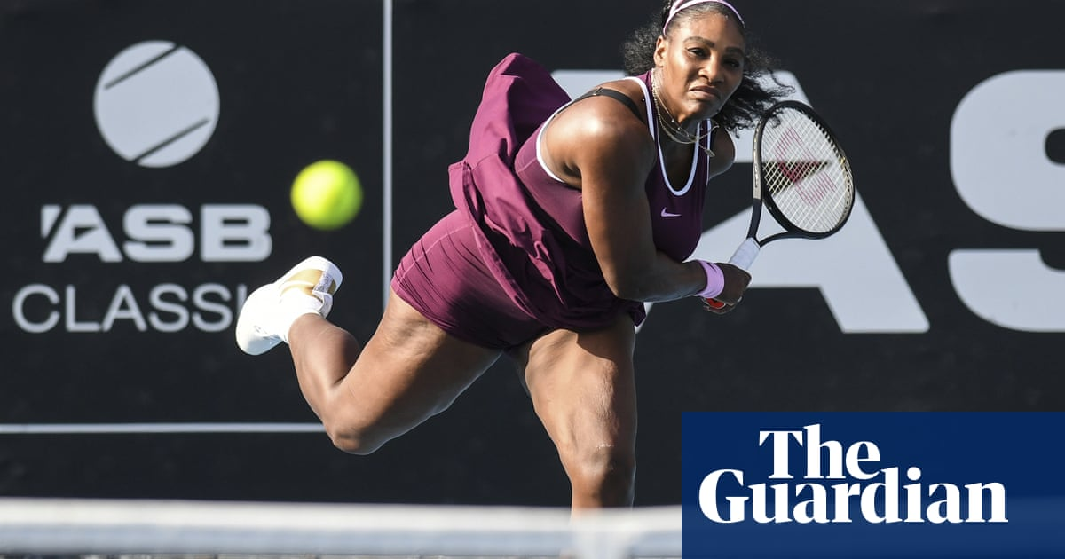 Serena Williams hits heights as Andreescu pulls out of Australian Open