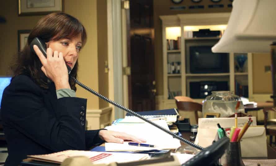 'The cast were like my family' … Allison Janney as CJ.