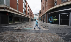 Leicester city centre in local lockdown