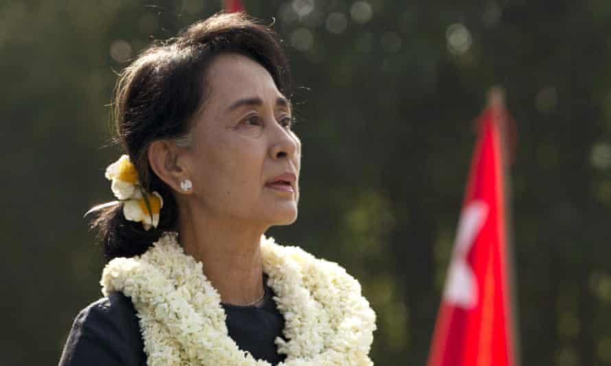 Aung San Suu Kyi in Rangoon in 2013.