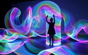 Light Painting workshop, Wollongong High School of the Performing Arts, 2018