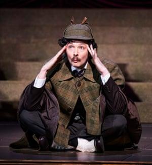 Entertaining … Chris Addison as Smith.