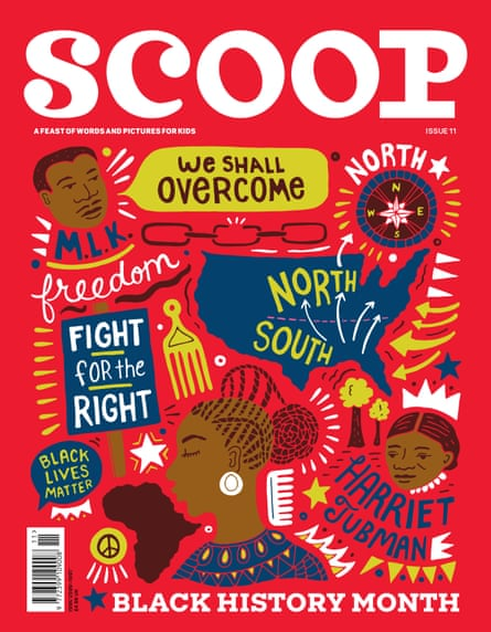 The front page of an issue of Scoop