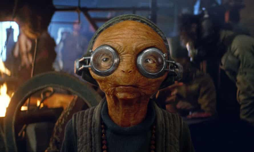Star Wars, Maz Kanata character played by Lupita Nyong'o