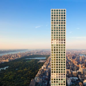 The tower at 432 Park Avenue in New York.