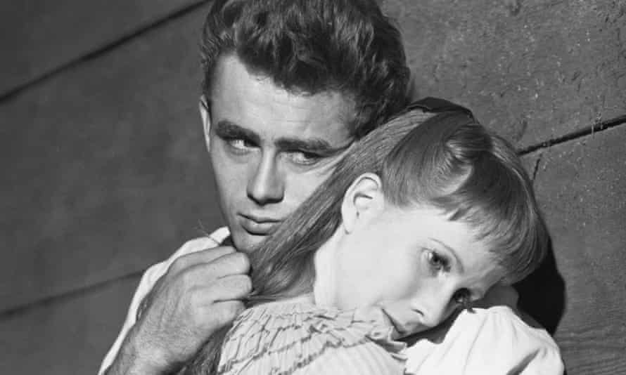 James Dean and Julie Harris in the 1955 film version of Steinbeck's East of Eden