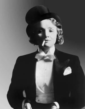 Marlene Dietrich in Morocco.