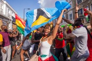 Notting Hill Carnival 2016, Notting Hill, London, England