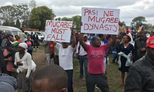 """Kuda and brother Tinashe Masvaure: """"There aren't enough jobs in the country. That is why we are here to say enough is enough."""""""