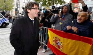 Carles Puigdemont is seen by many as the Catalan president-in-exile.
