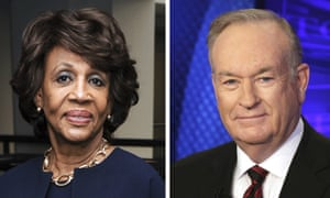 Bill O'Reilly suggested Maxine Waters was wearing a 'James Brown wig'.