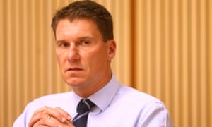 Senator Cory Bernardi, who opposes marriage equality, says: 'Is it OK for any business to simply say they don't want your business for any or no reason? Personally I think it is.'