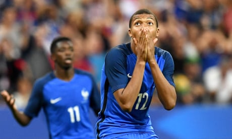 Kylian Mbappé's rapid rise highlights the youthful promise of Les Bleus | Dominic Fifield