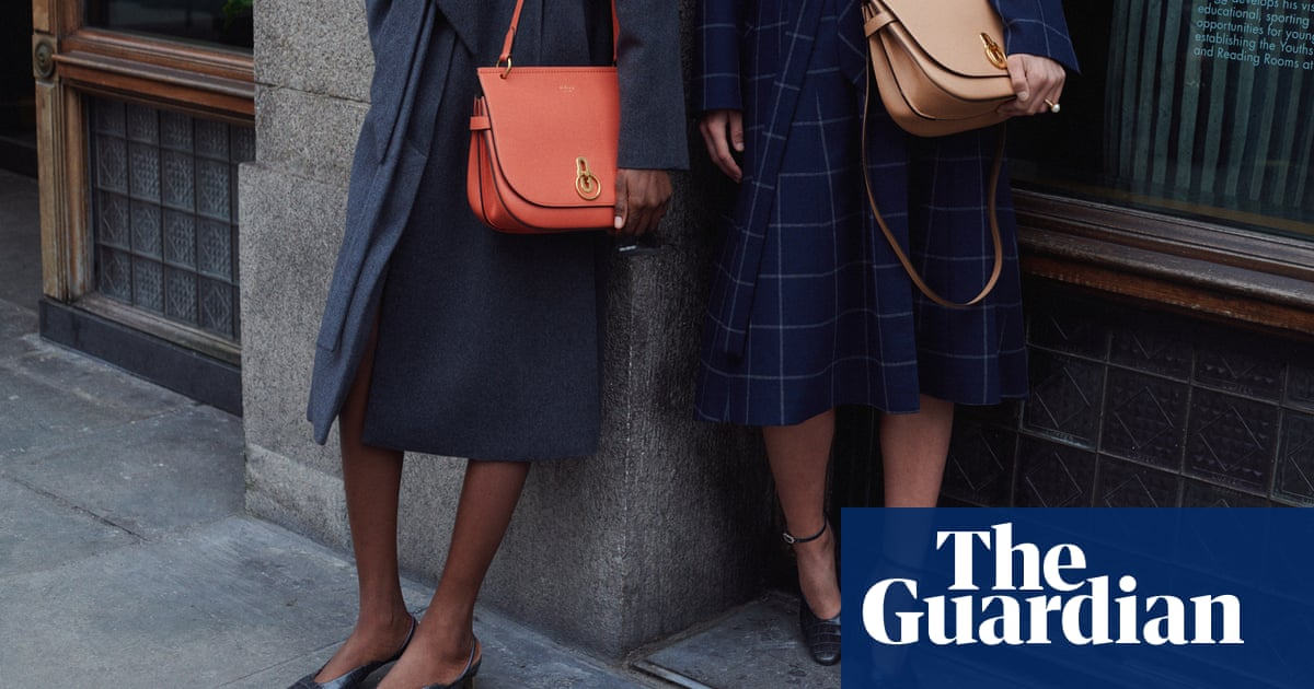 Mulberry s sales of luxury goods fall sharply in UK   Fashion   The ... 54e4a42384