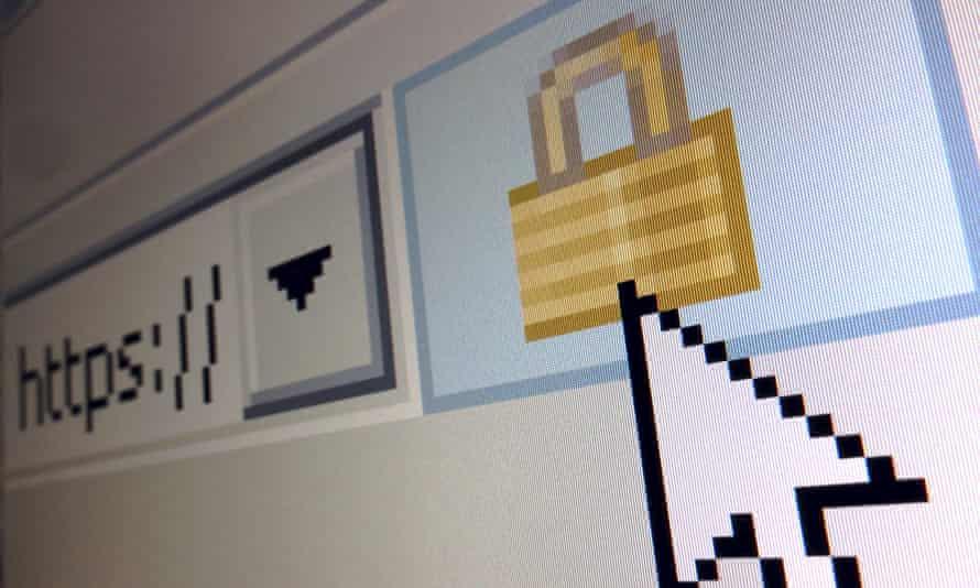 cybersecurity screen