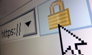 Encrypted webpage illo