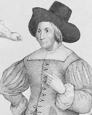 Mary Frith, known as Moll Cutpurse, the notorious 17th century pickpocket.