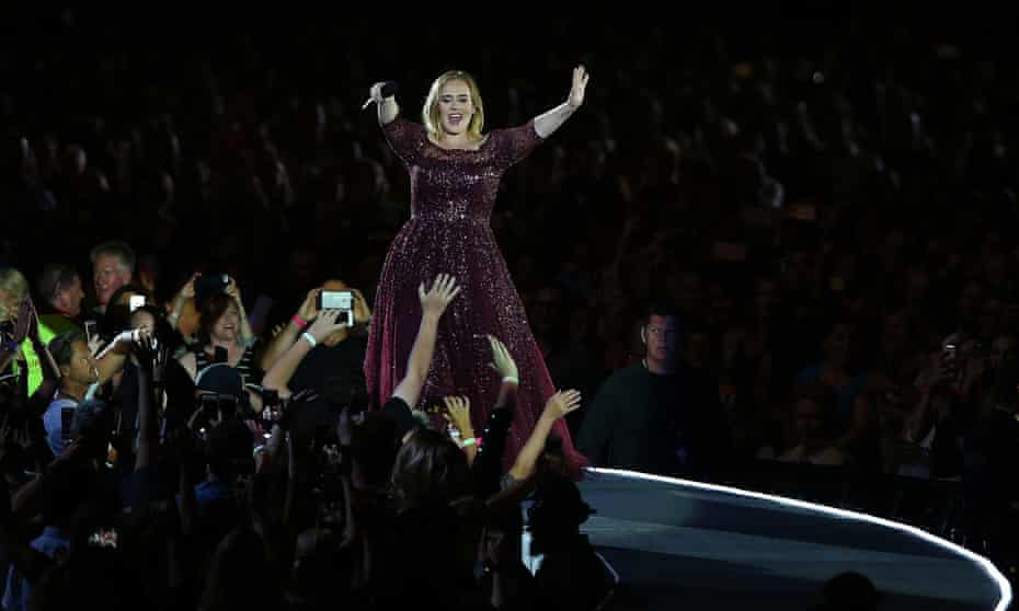 Adele in Perth. 'Heartstrings were torn, confetti exploded and children celebrated.'