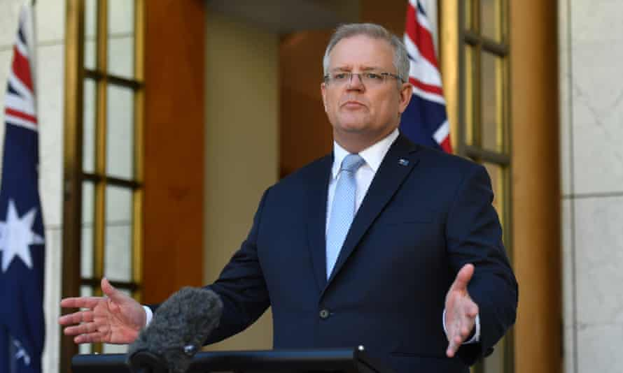 Prime minister Scott Morrison unveils a second federal stimulus package offering an additional $66bn worth of measures for the coronavirus-hit economy including relief for retirees and workers who lose their job.