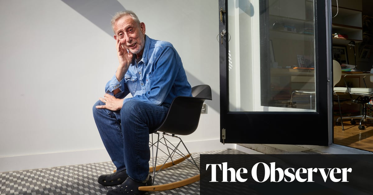 'Thanks for your help, Sticky': Michael Rosen on learning to walk again after Covid