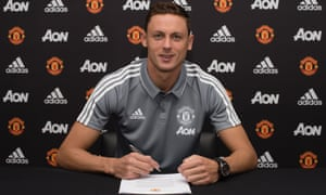 Nemanja Matic reunites with José Mourinho after completing his move from Chelsea.
