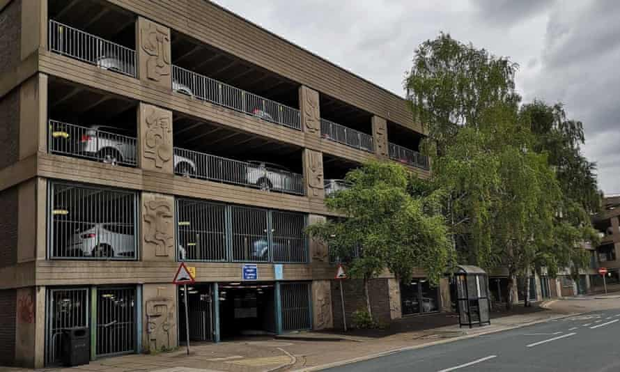 Abbey Walk multi-storey car park in Grimsby, which North East Lincolnshire council are seeking £1.54m to refurbish.