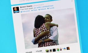Barack and Michelle Obama have embraced Twitter.
