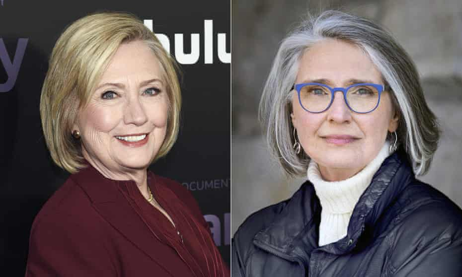 A literary patina … Hillary Rodham Clinton and Louise Penny, co-authors of State of Terror.
