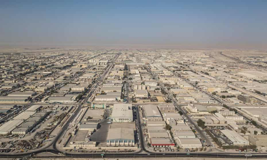 The Industrial Area is the largest labour camp in Qatar, home to hundreds of thousands of workers, most of whom live in poor quality housing among a vast expanse of factories and warehouses, about half an hour outside of Doha.