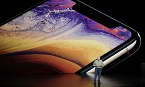 Phil Schiller, Apple's senior vice president of worldwide marketing, speaks about the Apple iPhone XS.