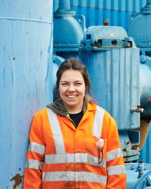 Casey Keenan, a trainee marine engineer at Team One Engineering.
