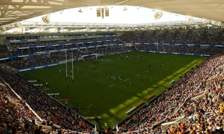 View of an NRL game