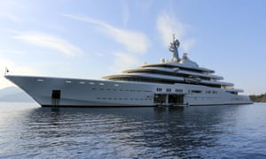 Roman Abramovich's yacht Eclipse.