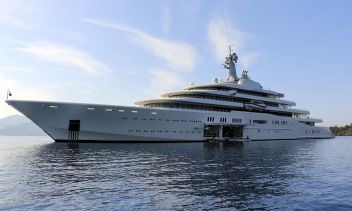 Superyachts and bragging rights: why the super-rich love