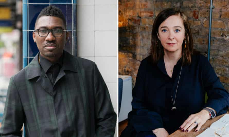 artistic directors Kwame Kwei-Armah and Vicky Featherstone.