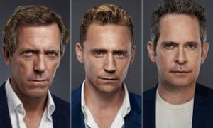 Dragon School alumni: Hugh Laurie, Tom Hiddleston and Tom Hollander.